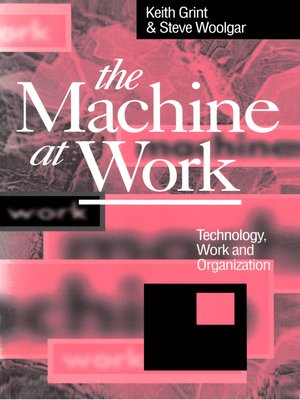 cover image of The Machine at Work