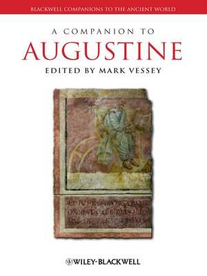 cover image of A Companion to Augustine