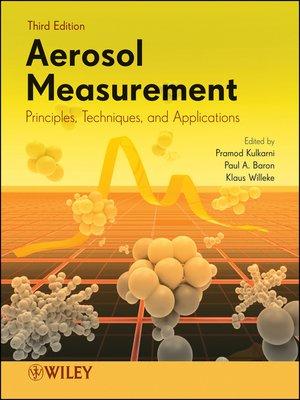 cover image of Aerosol Measurement