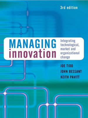 cover image of Managing Innovation