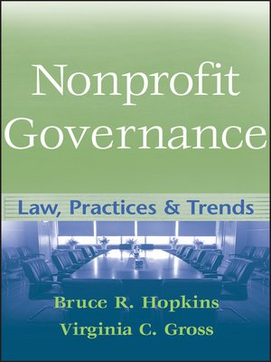 cover image of Nonprofit Governance