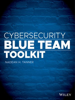 cover image of Cybersecurity Blue Team Toolkit