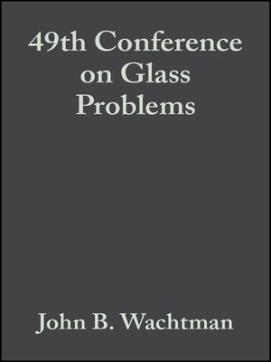 cover image of 49th Conference on Glass Problems