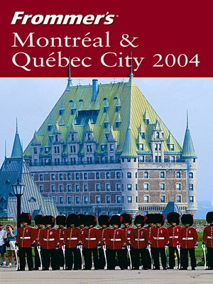 cover image of Frommer's Montreal & Quebec City 2004
