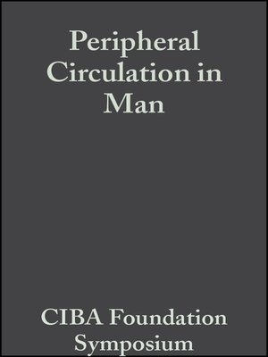 cover image of Peripheral Circulation in Man