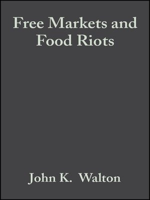 cover image of Free Markets and Food Riots