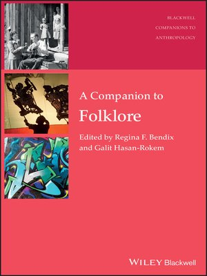 cover image of A Companion to Folklore