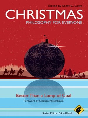 cover image of Christmas--Philosophy for Everyone