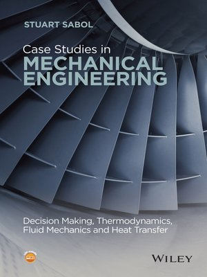 cover image of Case Studies in Mechanical Engineering
