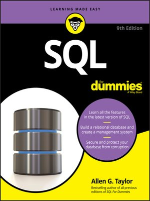 cover image of SQL For Dummies