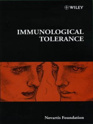 cover image of Immunological Tolerance