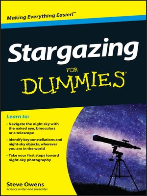 cover image of Stargazing For Dummies