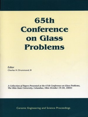 cover image of 65th Conference on Glass Problems