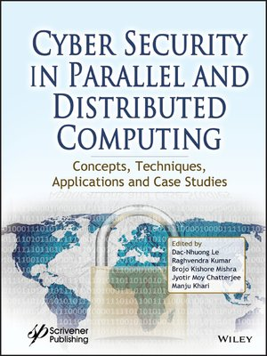 cover image of Cyber Security in Parallel and Distributed Computing