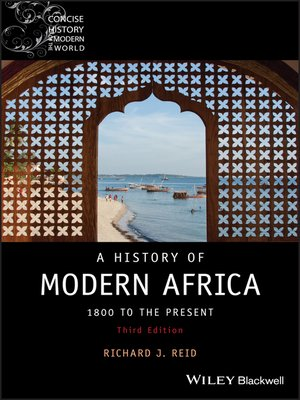 cover image of A History of Modern Africa