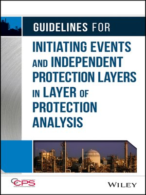 cover image of Guidelines for Initiating Events and Independent Protection Layers in Layer of Protection Analysis