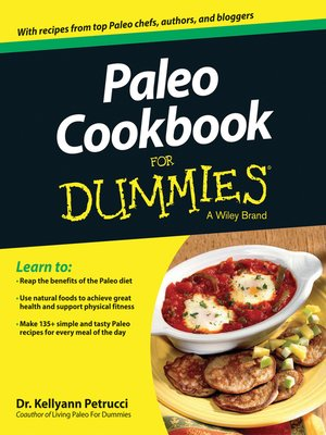 cover image of Paleo Cookbook For Dummies