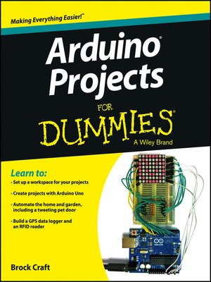 cover image of Arduino Projects For Dummies