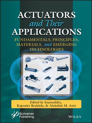 cover image of Actuators and Their Applications