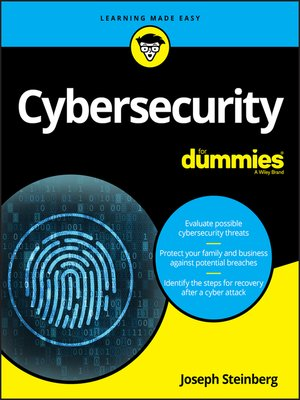 cover image of Cybersecurity For Dummies