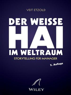 """cover image of """"Der weiße Hai"""" im Weltraum"""