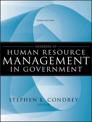 cover image of Handbook of Human Resource Management in Government