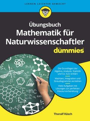 cover image of Übungsbuch Mathematik für Naturwissenschaftler