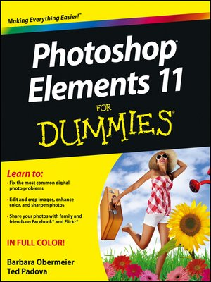 cover image of Photoshop Elements 11 For Dummies
