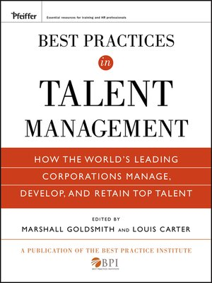 cover image of Best Practices in Talent Management