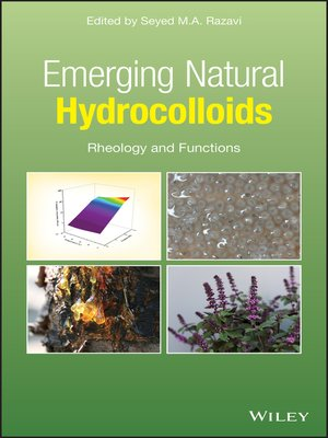 cover image of Emerging Natural Hydrocolloids