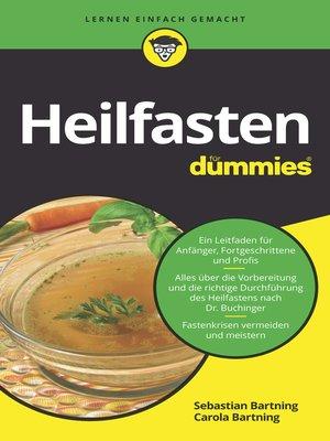 cover image of Heilfasten für Dummies
