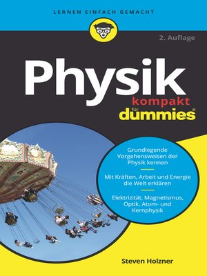 cover image of Physik kompakt für Dummies
