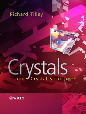 cover image of Crystals and Crystal Structures