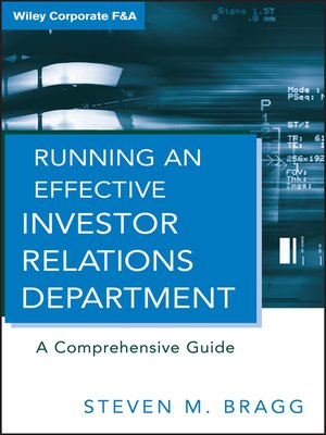 cover image of Running an Effective Investor Relations Department