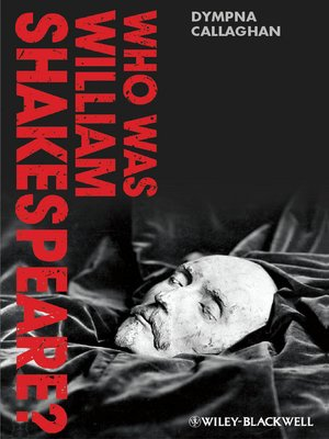 cover image of Who Was William Shakespeare?