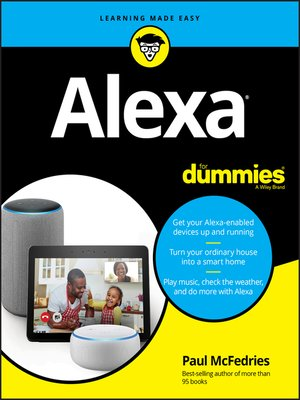 cover image of Alexa For Dummies