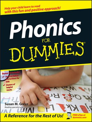 cover image of Phonics for Dummies