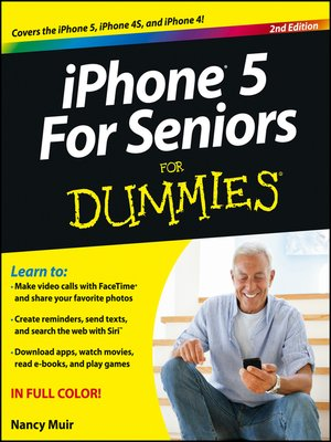 cover image of iPhone 5 For Seniors For Dummies