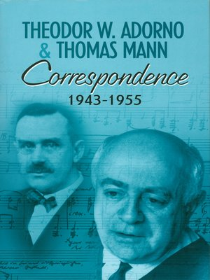 cover image of Correspondence 1943-1955
