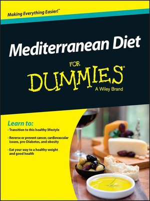 cover image of Mediterranean Diet For Dummies