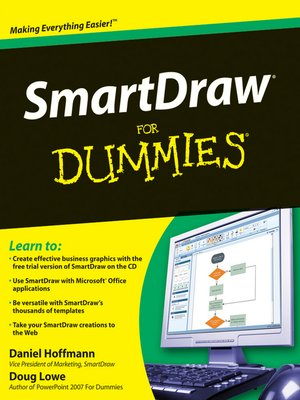 cover image of SmartDraw For Dummies