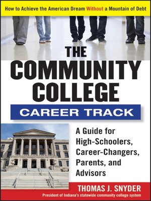 cover image of The Community College Career Track