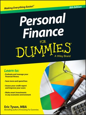 cover image of Personal Finance For Dummies