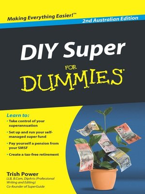 cover image of DIY Super For Dummies