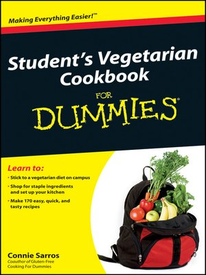 cover image of Student's Vegetarian Cookbook For Dummies