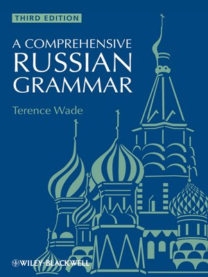 cover image of A Comprehensive Russian Grammar