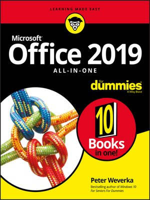 cover image of Office 2019 All-in-One For Dummies