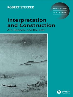 cover image of Interpretation and Construction