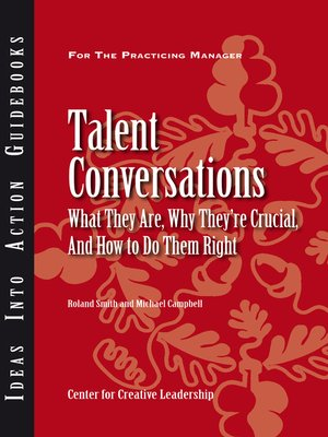 cover image of Talent Conversations