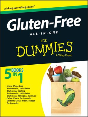 cover image of Gluten-Free All-in-One for Dummies